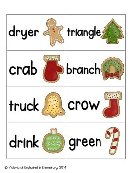 Christmas Treats Phonics: R-Blends Pack