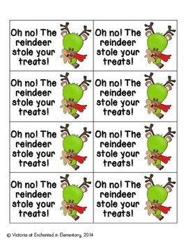 Christmas Treats Phonics: Short A Pack