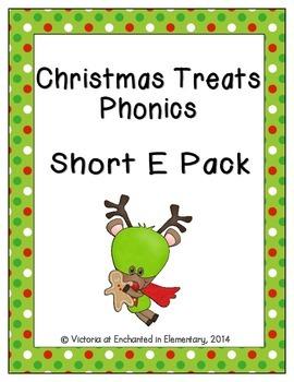Christmas Treats Phonics: Short E Pack
