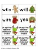 Christmas Treats Sight Words! Primer Dolch List Edition
