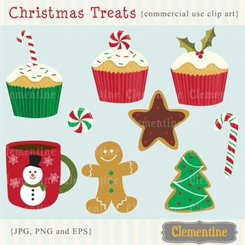 Christmas Treats clip art images, Christmas clipart, Chris