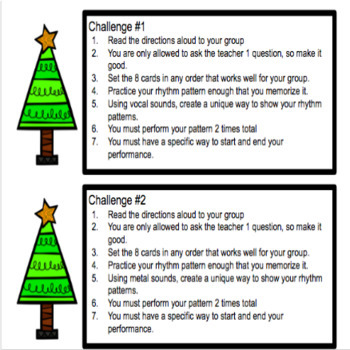 Christmas Tree: A Project Based Lesson for Rhythm Composition