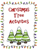Christmas Tree Activities Freebie!