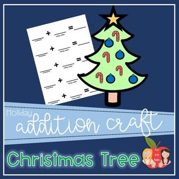 Christmas Tree Addition Craft