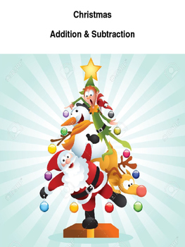 Christmas Tree Addition & Subtraction