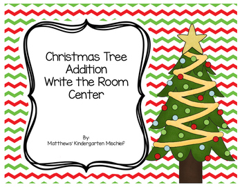 Christmas Tree Addition Write the Room
