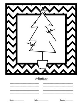 Christmas Tree Adjectives