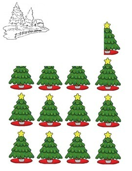 Christmas Tree Array/Counting