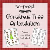 Christmas Tree Articulation {No-Prep}