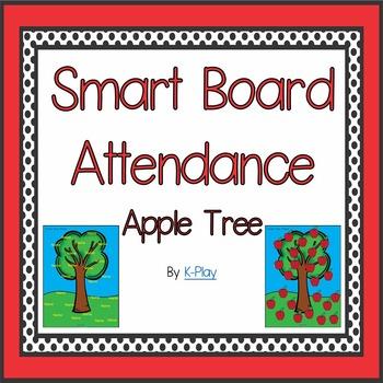 Apple Tree Attendance - Smart Board