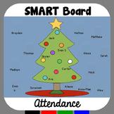 Christmas SMARTBoard Attendance