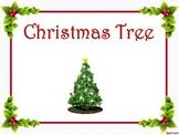 Christmas Tree Beginning Reader Rhyme Digital Set