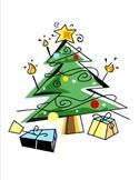 Christmas Tree Bingo for Preschoolers