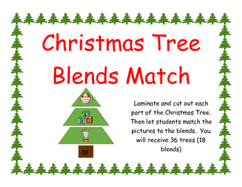 Christmas Tree Blend Match