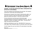 Christmas Tree Book Report
