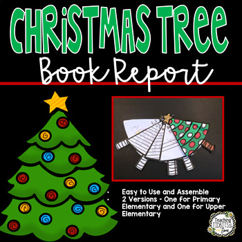 Christmas Tree Book Report Craftivity