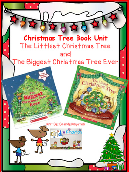 the biggest christmas tree and the littlest christmas tree book unit