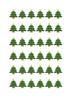 Christmas Tree Border or Band