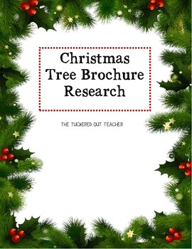 Christmas Tree Brochure Research