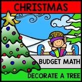 Christmas Tree Budget - Special Education - Shopping - Life Skills - Money Math