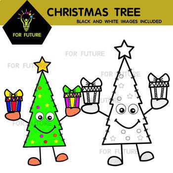 Christmas Tree Buds: Christmas Clipart (For Future)