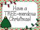 Christmas Tree Bulletin Board Set. Have a TREE-mendous Christmas!
