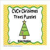 Christmas Tree CVCe Puzzles