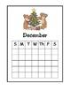 Christmas Tree Calendar for December