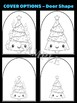 Christmas Tree + Candles - Moonju Makers for Activity, Craft, Decor, Writing