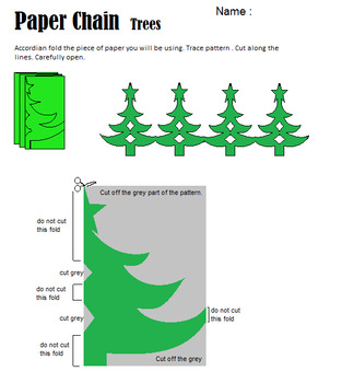 Christmas Tree Chain Pattern