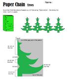 Christmas Tree Chain Pattern