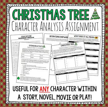 Christmas Writing Activity: Christmas Tree Writing & Design