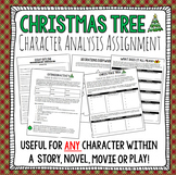 Christmas Writing Activity: Christmas Tree Writing & Design