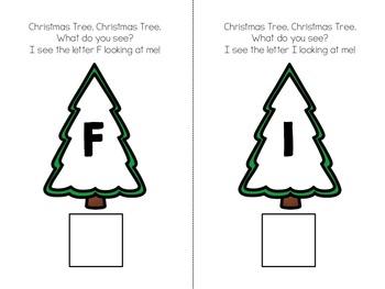 Christmas Tree, Christmas Tree, What do you see? Interactive Alphabet Book