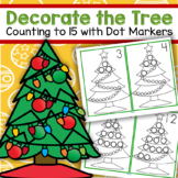 Dot Markers Christmas Trees