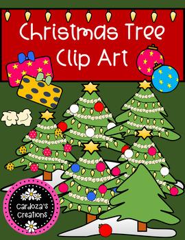 Christmas Tree Clip Art By Cardoza's Creations