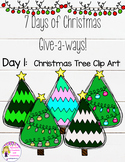 Christmas Clip Art-Christmas Tree {Spoonful of Confetti and Creativity}