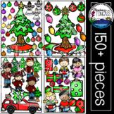 Christmas Tree Clipart MEGA Bundle (Christmas Clipart)