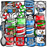 Hot Chocolate Clipart (Winter Clipart)