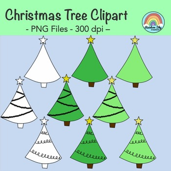 Christmas Tree Clipart - Free Download