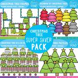 Christmas Tree Clipart {Super Saver Bundle}