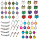 Christmas Tree Clipart With Glitter