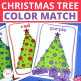 Christmas Activities | Christmas Tree Color Sorting | Colo