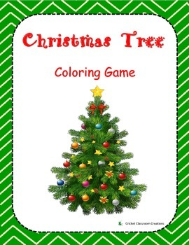 Christmas Tree Color Racing Game
