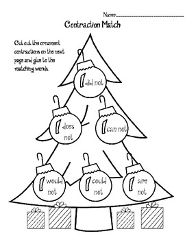 Christmas Tree Contraction Match