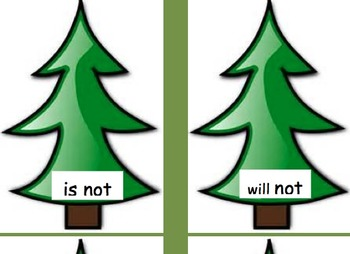 Christmas Tree Contractions