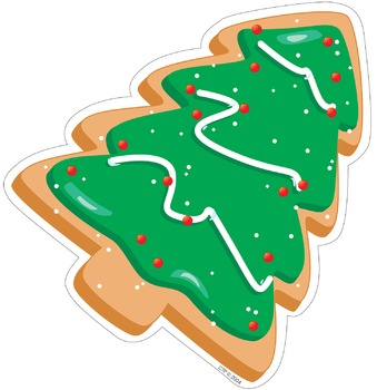 Christmas Tree Cookie - Cut-Out Holiday Decor