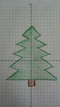 Christmas Tree Coordinate Grid