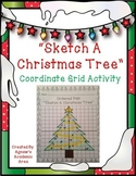 Christmas Tree Coordinate Grid Activity