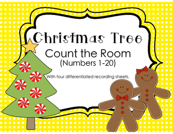 Christmas Tree Count the Room
